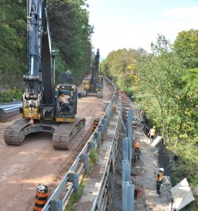 Sherman Access project by Bronte Construction